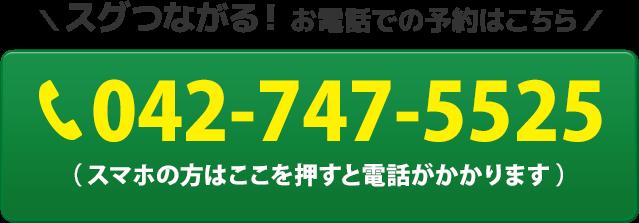 電話番号:042-747-5525