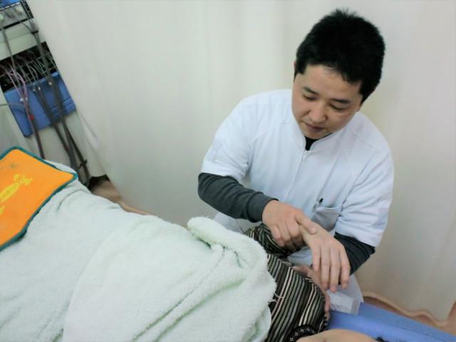 手首の施術